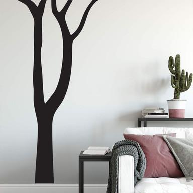 Wandtattoo Blattloser Baum
