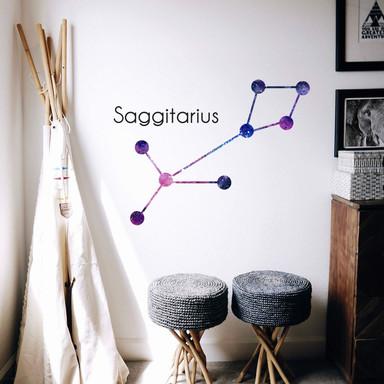 Wandtattoo Sternbild Saggitarius - Schütze
