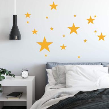 Wandtattoo Sterne