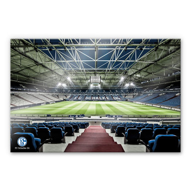 Acrylglasbild - Schalke 04 - Arena Tribüne