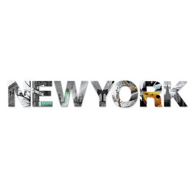 Dekobuchstaben New York