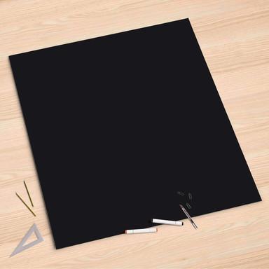 Folienbogen (90x90cm) - Schwarz
