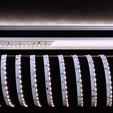 LED - Stripe Sideview out mit 6500 K, tageslichtweiss, 3000x8x2 mm, IP20. 24 V
