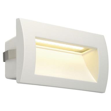 LED Wandeinbauleuchte Downunder Out M, IP55. 3000K, weiss