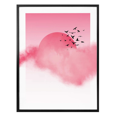 Poster Nordic Creators - Pink Sunshine