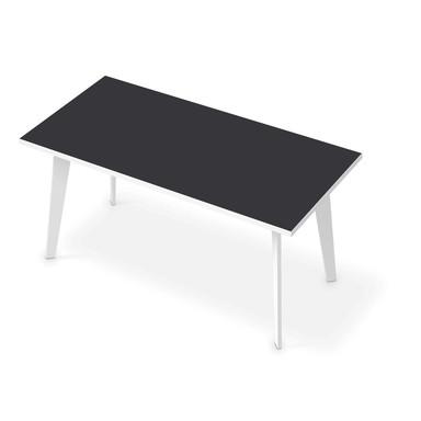 Tischfolie - Grau Dark