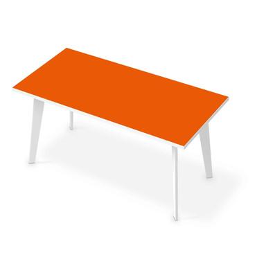 Tischfolie - Orange Dark