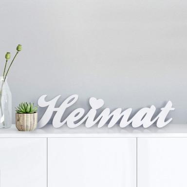 Dekobuchstaben 3D Heimat - Bild 1
