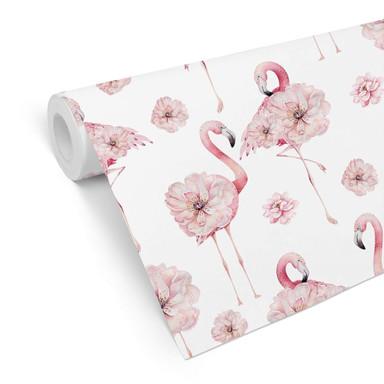 Mustertapete UN Designs - Flamingo Floralis