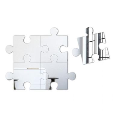 Wandspiegel Puzzle Spiegel-Set