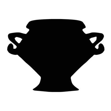 Wandtattoo Vase 9
