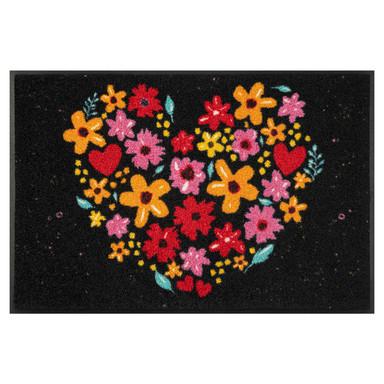 Wash&Dry Fussmatte Flower Heart