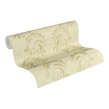 Vliestapete Premium Wall Tapete neo barock glamourös klassisch beige, metallic