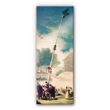 Acrylglasbild de Goya - Der Maibaum - Panorama