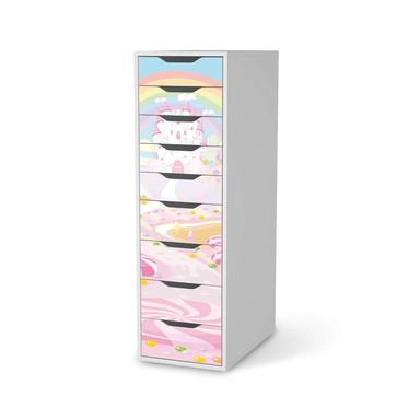 Folie IKEA Alex 9 Schubladen - Candyland
