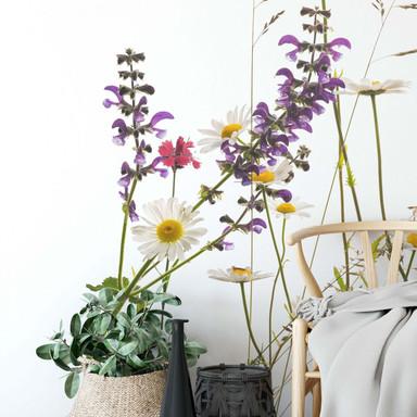 Fototapete Kadam - Flora Marguerite - 192x260cm - Bild 1