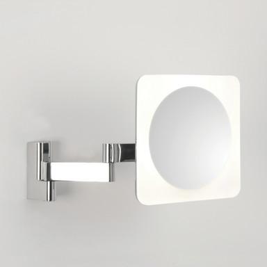 LED 5-fachVergrösserungs-Kosmetikspiegel Niimi in Chrom 5.7W 144lm IP44