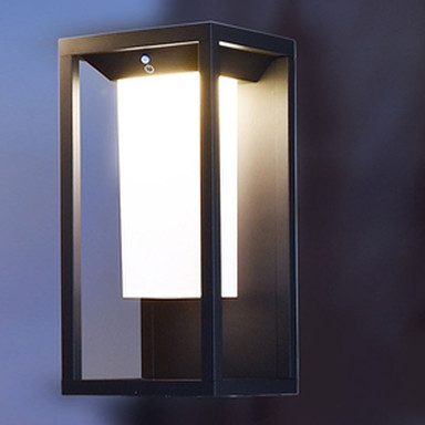 LED Solar Wandaufbauleuchte Samas 2.20W