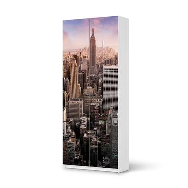 Möbelfolie IKEA Pax Schrank 236cm Höhe - 2 Türen - Big Apple