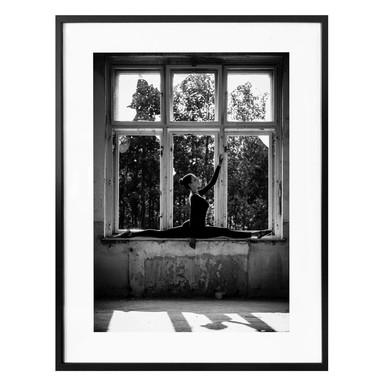 Poster Krystynek - Am Fenster