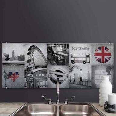 Spritzschutz Impressions of London