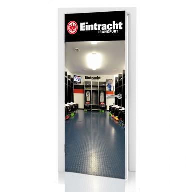 Türdeko Eintracht Frankfurt Kabine - Bild 1