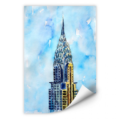 Wallprint Bleichner - Chrysler Building in NYC