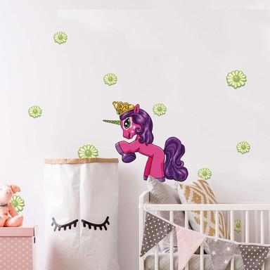 Wandsticker Filly Unicorn Friendship Alvara
