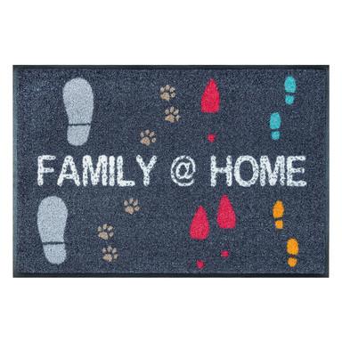 Wash&Dry Fussmatte Family @ Home 50x75cm