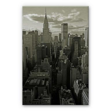 Alu Dibond Bild Manhattan 2