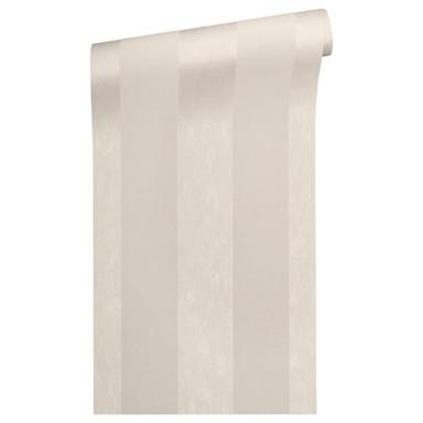 Architects Paper beflockte Tapete Castello braun, metallic