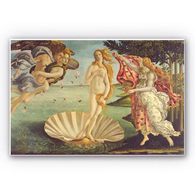 Hartschaumbild Botticelli - Geburt der Venus