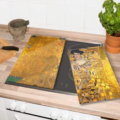 Herdabdeckplatte -Klimt-Bildnis der Adele Bloch-Bauer
