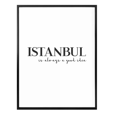 Poster Istanbul