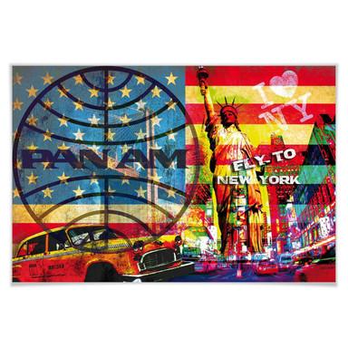 Poster PAN AM - New York