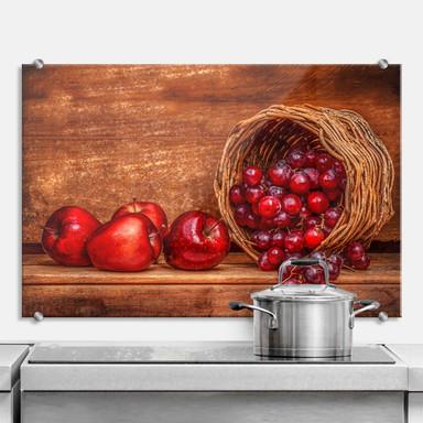 Spritzschutz Perfoncio - Rote Früchte