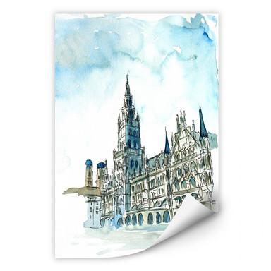 Wallprint Bleichner - Münchener Rathaus