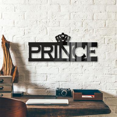 Acrylbuchstaben Prince