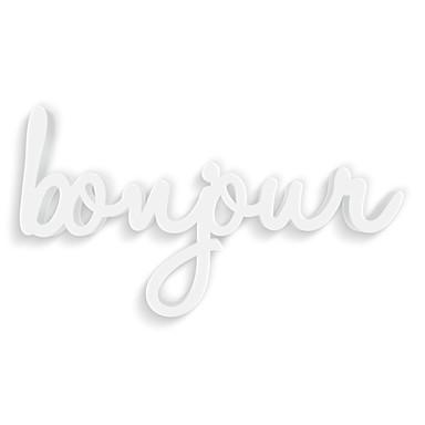 Dekobuchstaben 3D Bonjour
