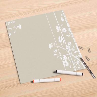Folienbogen (30x30cm) - Florals Plain 3