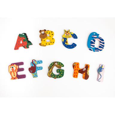 Kinderbuchstaben Bunte Tiere