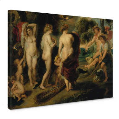Leinwandbild Rubens - Das Urteil des Paris