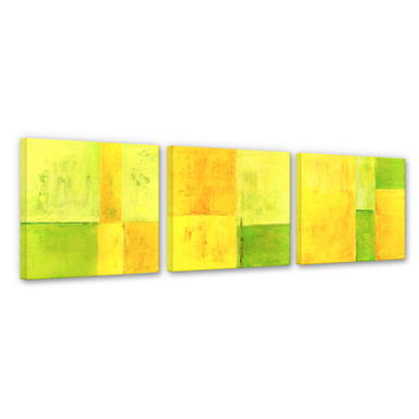 Leinwandbild Schüssler - Spring Composition (3-teilig)