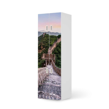 Möbelfolie IKEA Stuva / Fritids - 2 grosse und 2 kleine Türen - The Great Wall