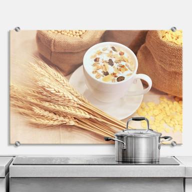 Spritzschutz Frühstücksstarter