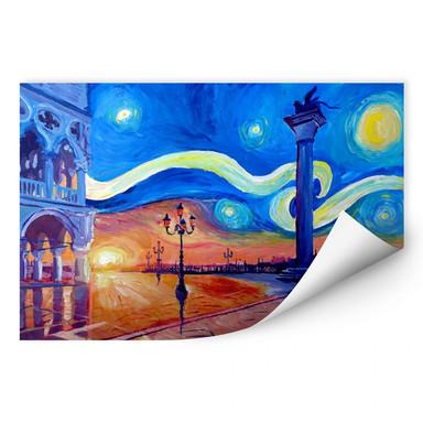 Wallprint Bleichner - Venedig bei Nacht
