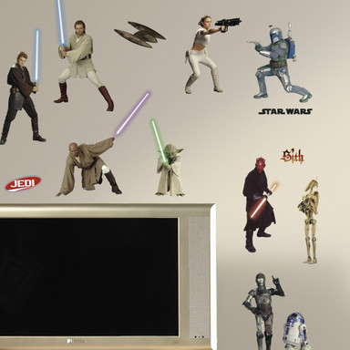 Wandsticker Star Wars - Clone Wars Set (Episode 1- - Bild 1