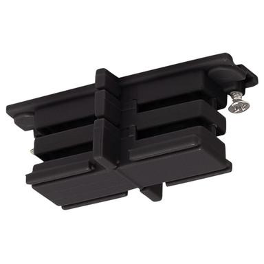3-Phasen S-Track, Aufbauschiene, Isolier-Verbinder, schwarz