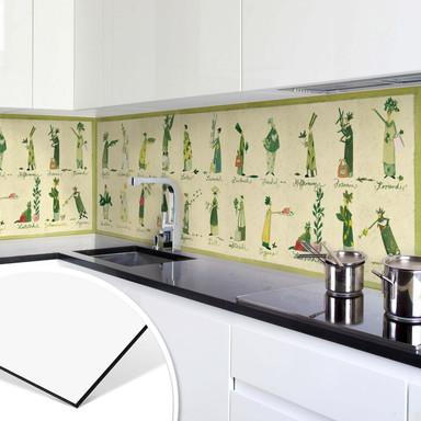 Küchenrückwand - Alu Dibond - Leffler - Kräuter