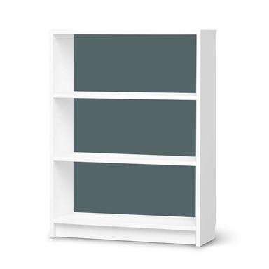 Möbelfolie IKEA Billy Regal 3 Fächer - Blaugrau Light